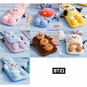 BTS-BT21-Official-Authentic-Goods-Plush-Cross-Bag-Baby-Ver-Tracking-Number
