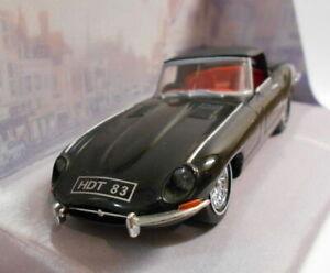 Dinky-1-43-escala-Diecast-Modelo-DY001-C-1967-Jaguar-E-Tipo-Mk-1-1-2-Negro