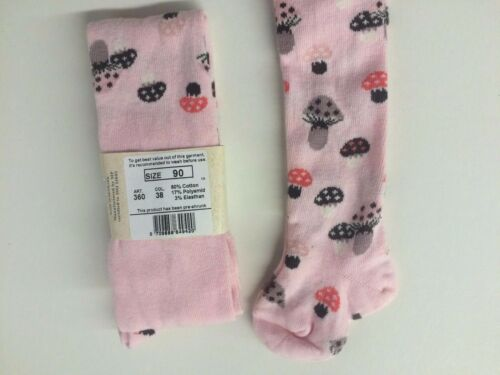 Pink with mushroom design Girls/' Tights by MP