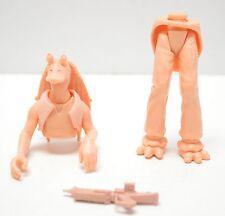 Star Wars Phantom Menace Jar Jar Binks Unpainted Prototype Action Figure