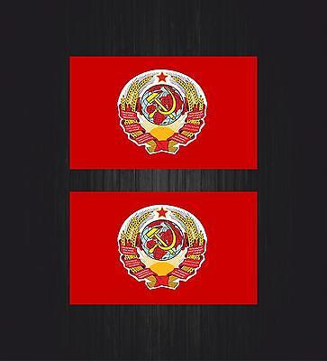 Aufkleber sticker wappen flagge flaggen fahne russland ussr udssr soviet cccp