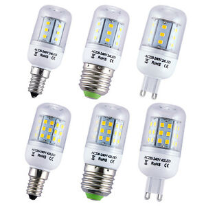 1-5-10-x-E14-E27-G9-3W-4W-LED-Bulbs-Light-Lamp-Warm-White-2835-SMD-AC-220V-240V