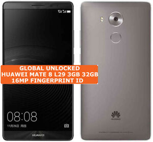 Huawei Mate 8 Nxt-l29 3gb 32gb Octa-Core 16mp Digitales Android Smartphone LTE