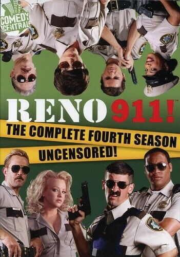 Reno 911 Season 4 Uncensored - DVD - GOOD - $5.11