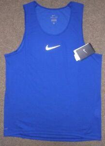 Nike sz M Men s AeroReact Running Tank Top Shirt NEW  85 920783 457 ... 80c9388e4bf23