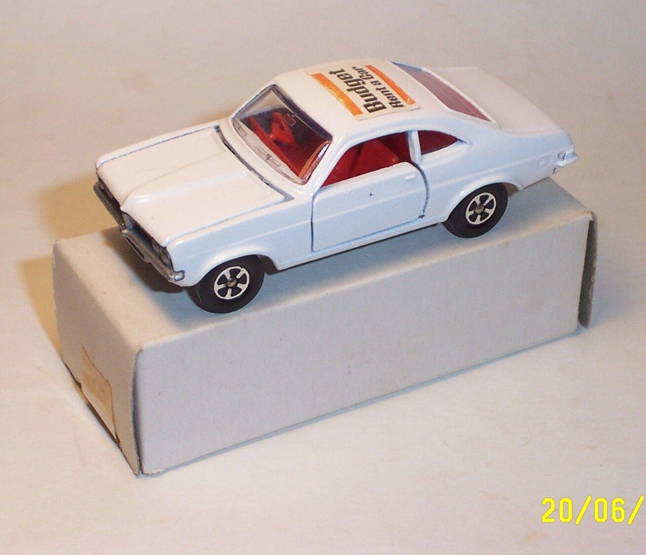 Lone Star volantes Vintage Década de 1970 Vauxhall Firenza presupuesto Rent a Car Promo-NMIB
