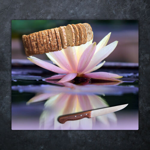 Glasschneidebretter Glasschneideplatten Glas Schneidebrett Lotus