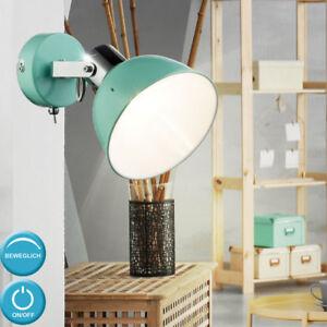 Vintage Lumière Murale Chambre à Coucher Spot Lampe Spot Vert Menthe ...