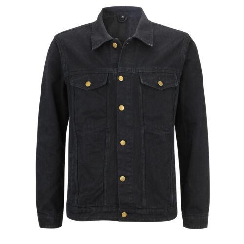 Capricorn Rockwear 106509  # Jeans Jacke Bomber schwarz