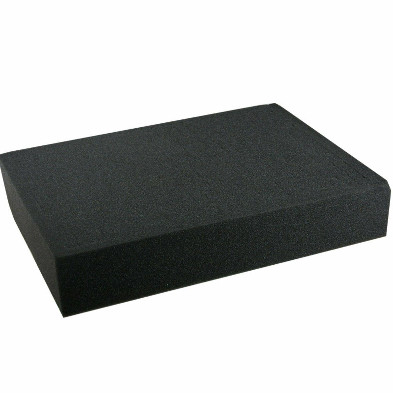 Foam Block 310x260x60mm Pick and Pluck Cubed Secure Padding EN-AC-HD-230 Case