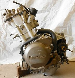 kawasaki ninja zx zzr  complete engine motor transmission stock oem ebay