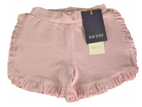 Blue Seven Sweat Shorts-con volant in Rose U Blu Marina