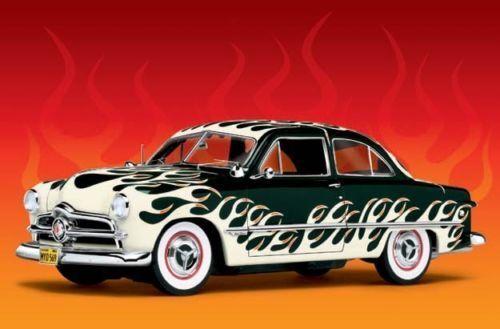 1 24 Danbury Mint Ford Curly Flamed - Rarità
