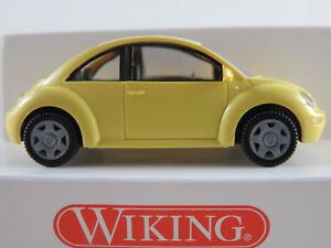 Wiking-03512-VW-Nuevo-Beetle-1997-2005-a-amarillo-claro-1-87-h0-nuevo-en-el-embalaje-original