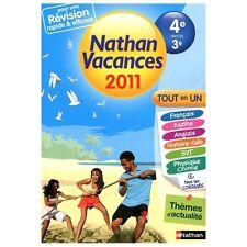 Cahier De Vacances 2011 Tout En Un De La 4e Vers La 3e - Dominik Manns