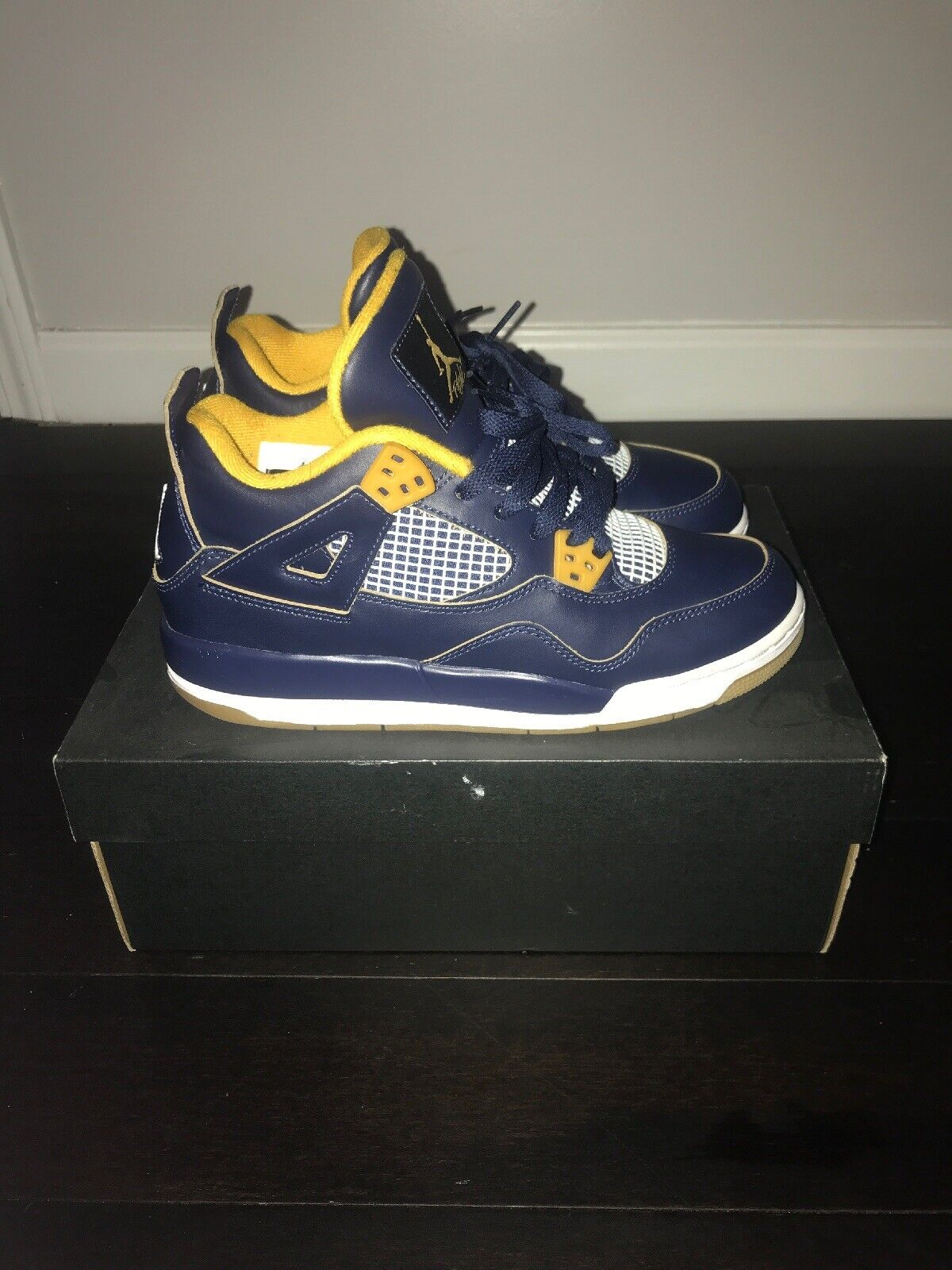 60b3453666f1 Jordan Retro 4 Dunk From From From Above Youth Size 6 2ed0d0 ...