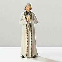 Statue St. John Vianney 3.5 Inch Painted Resin Saints In A Box Patron Catholic