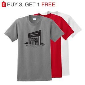 f7a409760 Trump Border Wall Construction Co. Parody Men's T-Shirt up to 5x NEW ...