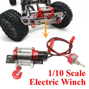 Mini-Full-Metal-Steel-Remote-Control-Racing-1-10-Scale-Winch-For-RC-Rock-Crawler