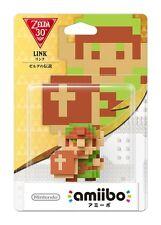 Amiibo Nintendo Legend Of Zelda 8bit Link Wii U 3DS