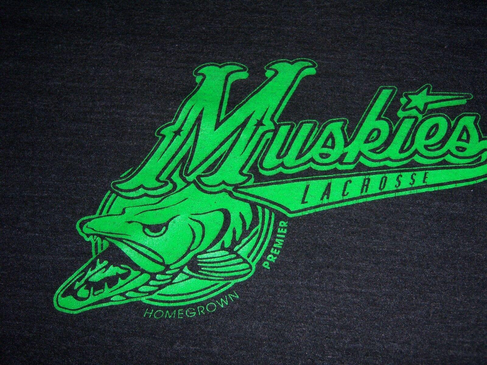 MUSKIE LACROSSE  SHIRT ADULT XL