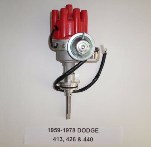 DODGE 413 426 /& 440 1959-1978 RED Small Female Cap RTR HEI Distributor  NEW