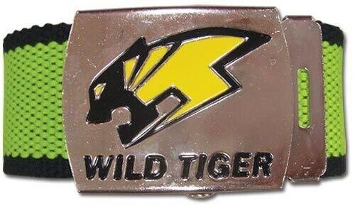 Tiger and Bunny Wild Tiger Logo Anime Men/'s Belt Official Licensed New Mint