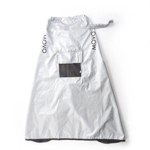 Cámara SLR Movo CRC03 Extra Largo Abrigo Impermeable Cubierta de la lluvia para DSLR//Lente//Trípode