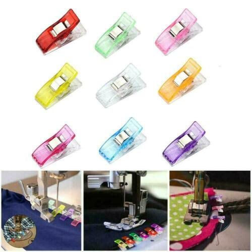 Plastic Holding Clip Set For Crafts Quilting Sewing DIY Kits Crochet L6H7