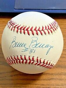 BRUCE BERENYI SIGNED AUTOGRAPHED OAL BASEBALL!  Reds, Mets!