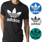 Adidas NEW Mens Original Crewneck Graphic Tee Trefoil T Shirt 30