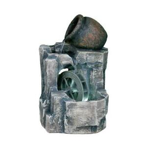11-in-Stone-Gray-Polyresin-Table-Fountain-with-LED-lights