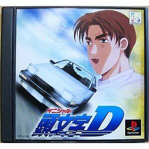 Usado-PS1-PS-PlayStation-1-Initial-D