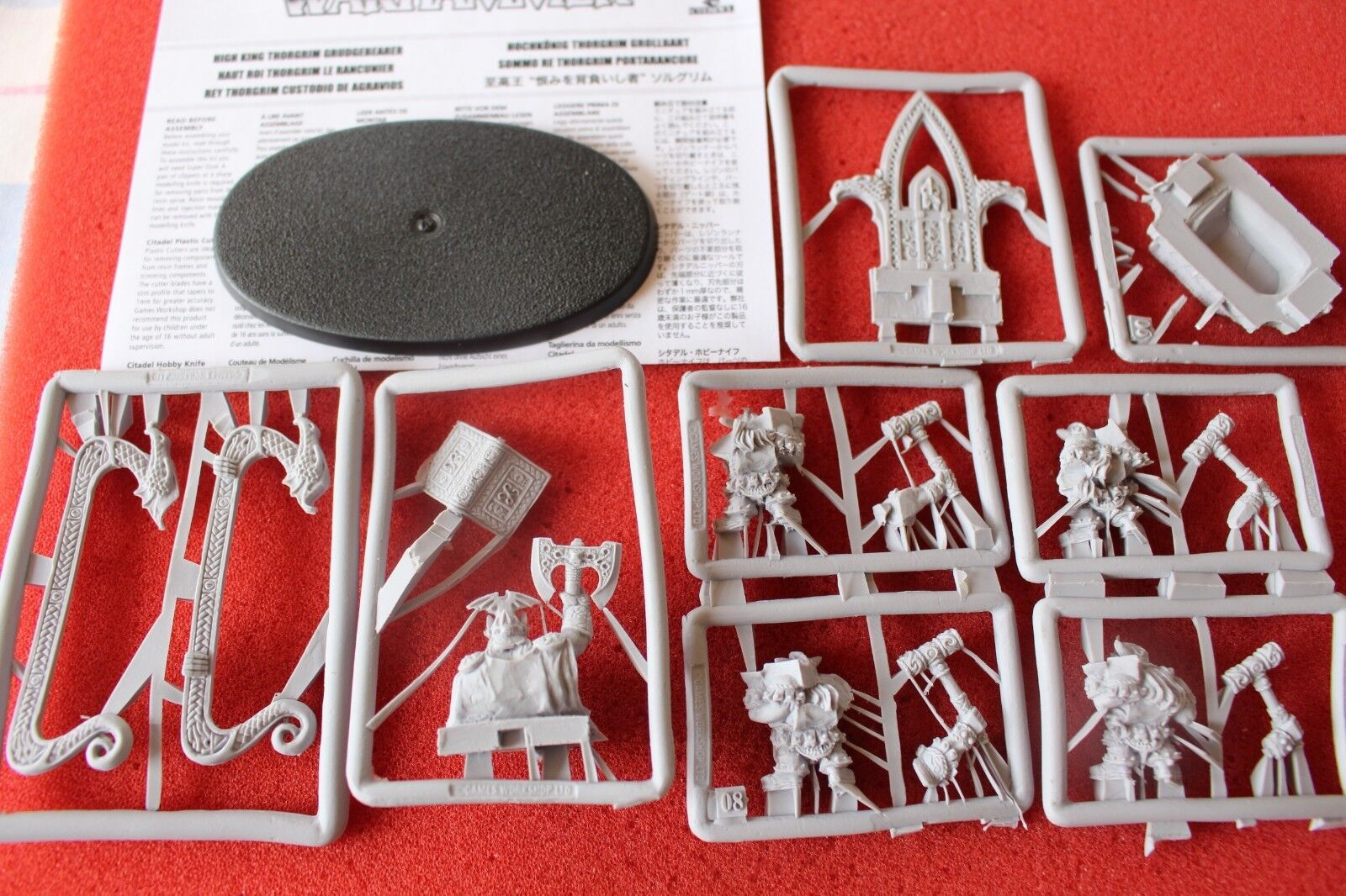 Games Workshop Warhammer Dwarf High King Thorgrim Grudgebearer Grudgebearer Grudgebearer Finecast GW New d2eb20