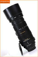 Sigma 120-400mm f4.5-5.6 DG APO OS HSM Lens - Nikon + Free UK Postage