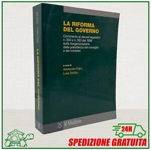 Pajno Torchia LA RIFORMA DEL GOVERNO il Mulino libro di Diritto Amministrativo