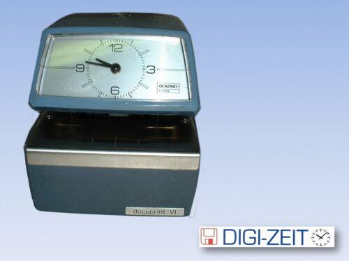 Stempeluhr BENZING DOCUPRINT IV Posteingangs - Zeit-und Belegstempler Neuwertig