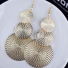 1 pair Women Lady Fashion Elegant Long Drop Ear Dangle Earrings Jewelry Gift