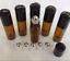 10PC-5-10ML-Amber-Roll-On-Glass-Bottle-Essential-Oil-Perfume-Plastic-Roller-Ball miniature 3