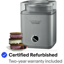Cuisinart ICE-30BC Pure Indulgence 2Qt. Frozen Yogurt, Sorbet & Ice Cream Maker