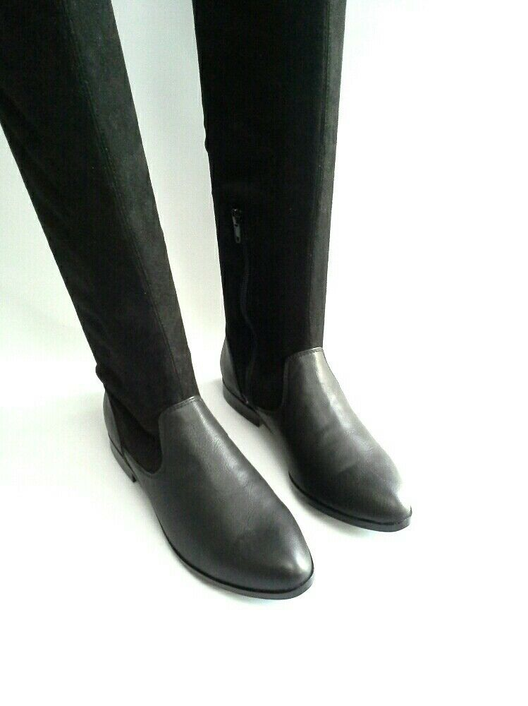 Free People Vegan Ridge Slouchy Tall  Boot by by by Farylrobin Sz 6  148 5533e6