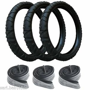 3 pneus et 3 chambres air 312x52 250 poussette high trek b b confort 312 x 52 ebay - Chambre a air 312x52 250 ...