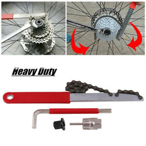 Bike Cycling Bicycle BMX Chain Whip Wheel Sprocket Remove Tool Portable New