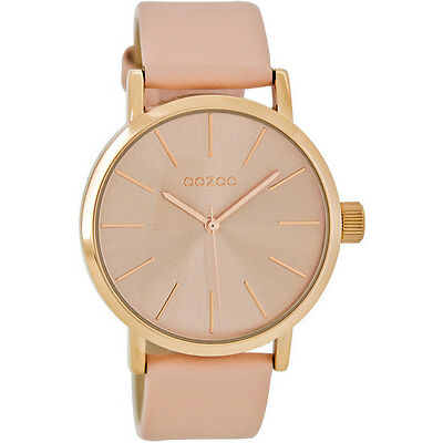 NEW Rose gold watch (champagne or blush pink) Women's by oozoo australia