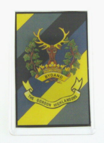 Gordon Highlanders Regimental crested Fridge Magnet