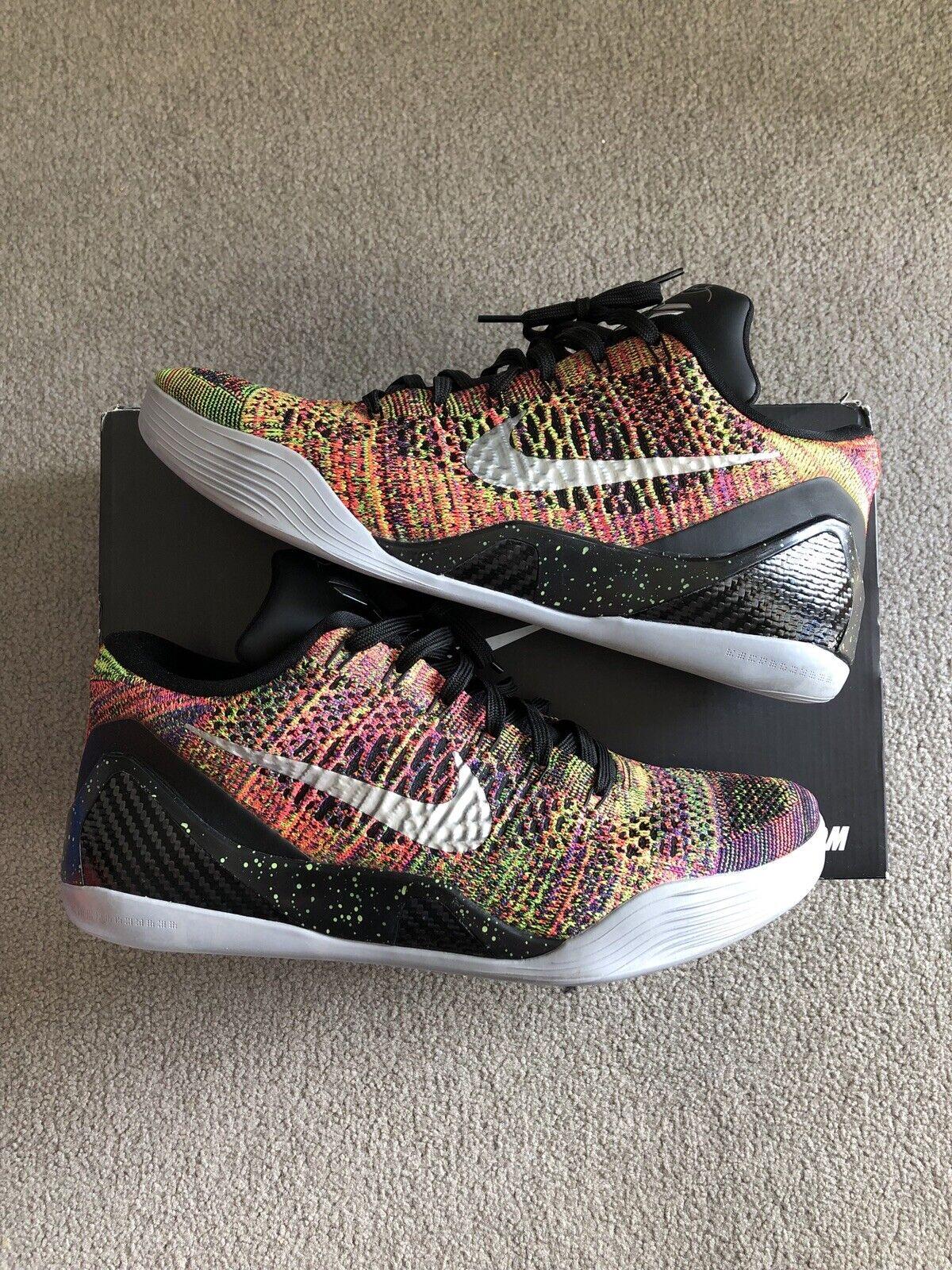Nike kobe 9 elite low multicolor ID size 11.5