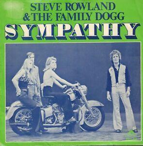 STEVE-ROWLAND-amp-THE-FAMILY-DOGG-Sympathy-1970-VINYL-SINGLE-7-034-HOLLAND