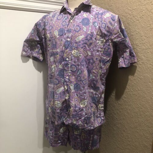 Reyn Spooner Men's Cabana Set XL Shirt & M Swimwea