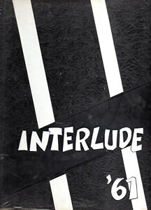 The Interlude 1961 Central High School Yearbook South Bend Indiana Ebay