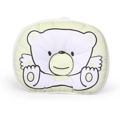 Newborn Bear Printed Pillow Infant Baby Support Cushion Pad Prevent Flat y1